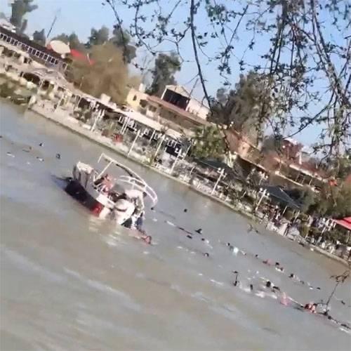 Число жертв крушения парома в Ираке приближается к сотне
