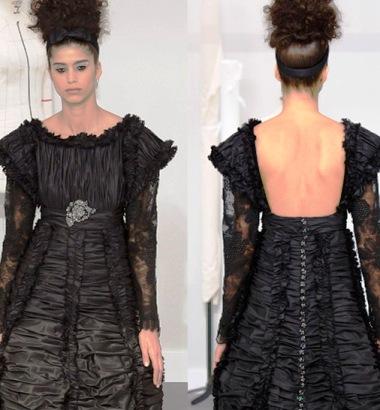Модные тенденции  2016-2017 — платья с открытой спиной