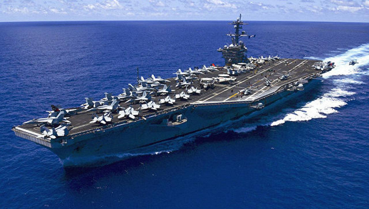 Американский авианосец «Карл Винсон» через несколько дней будет в Японском море