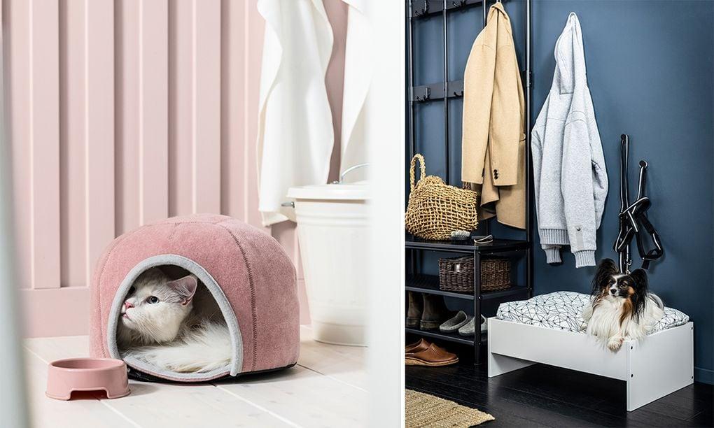 В новой коллекции Ikea Lurvig есть мебель для вашего питомца