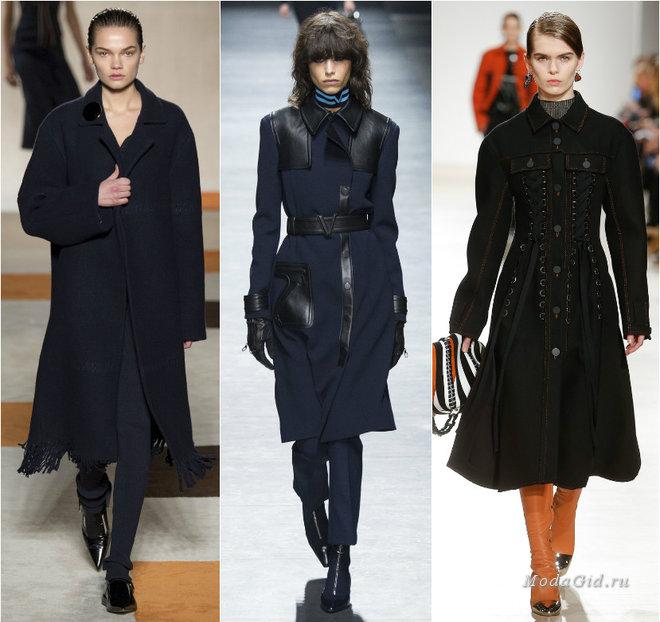 Пальто Мода Осень 2017