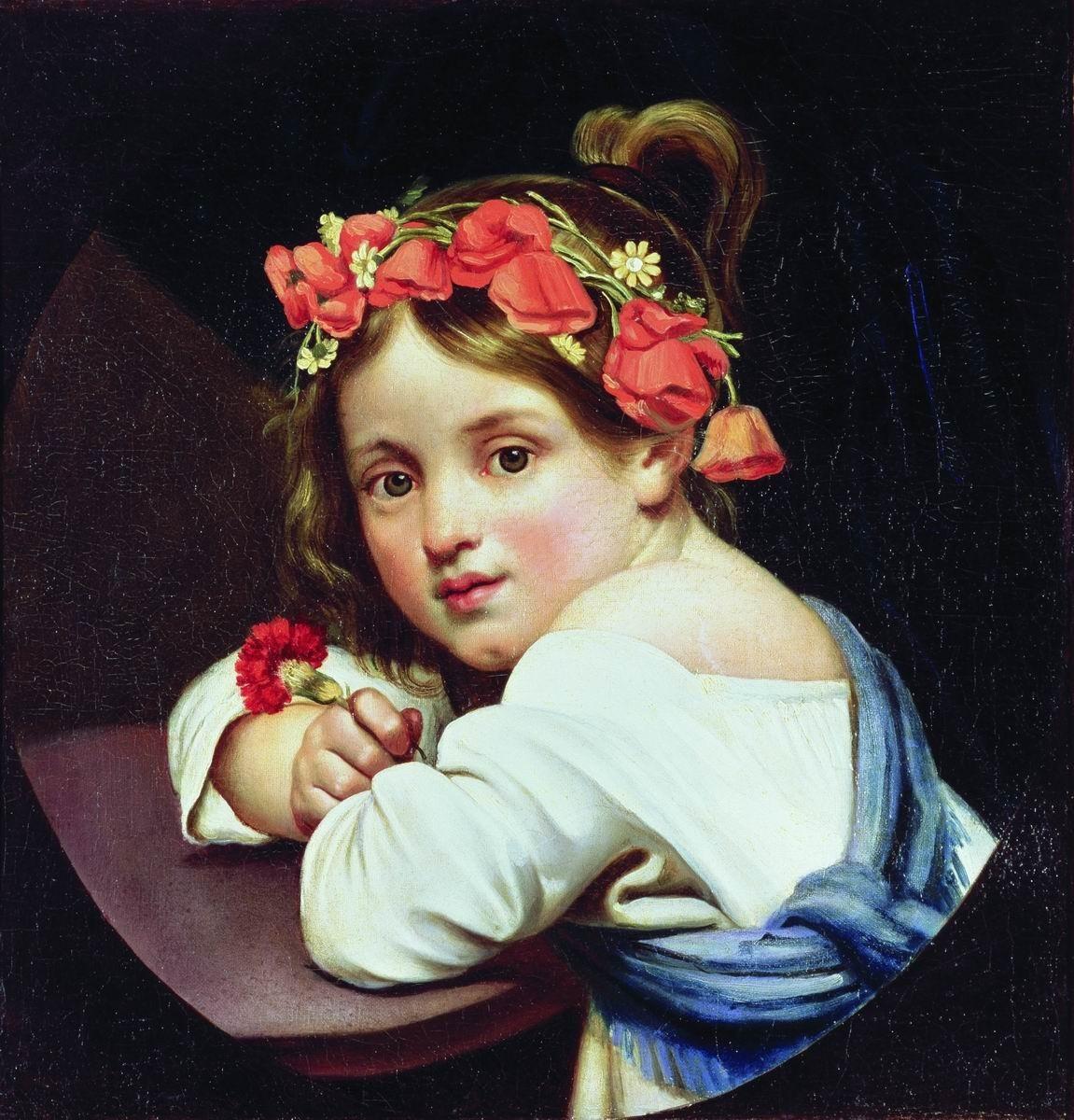 Русский художник Орест Адамович Кипренский