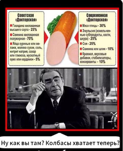 Мифы про 2 сорта колбасы в СССР и 300 сортов сейчас