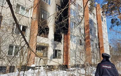 СКР завел дело по факту хлопка газа в пятиэтажке в Раменском