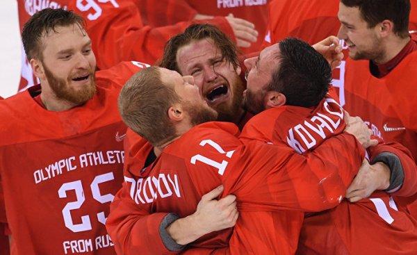 Олимпийское золото в хоккее …