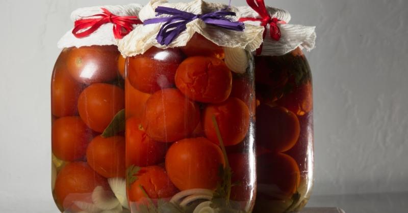 мариновать помидоры рецепт