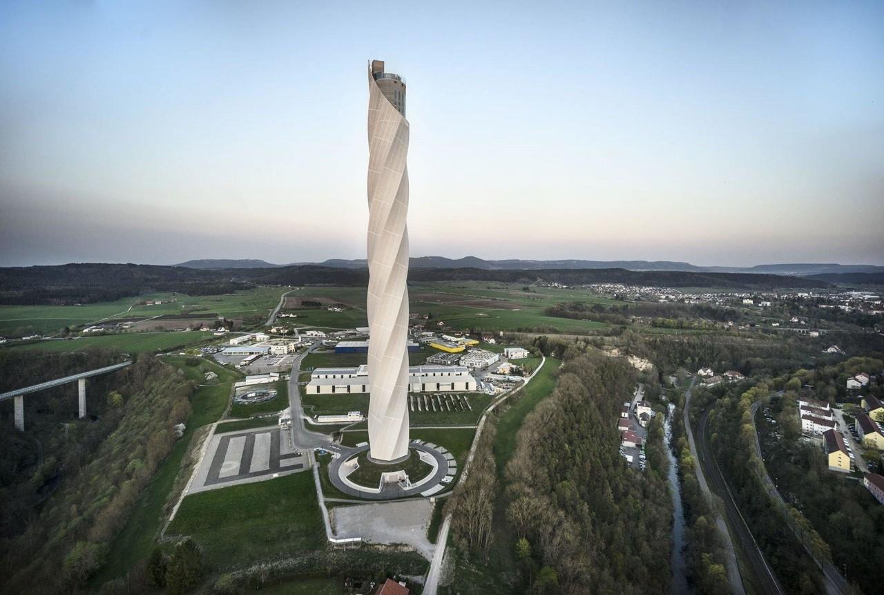 246-метровая испытательная б…