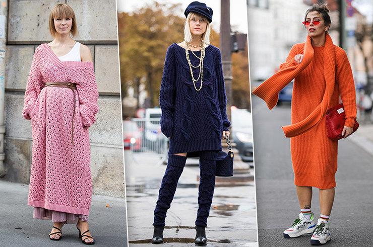 Тёплые женские платья на осень и зиму: 6 модных вариантов