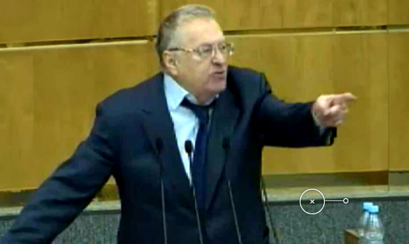 «Расстреливать и вешать!» - Жириновский набросился на единороссов в Государственной думе