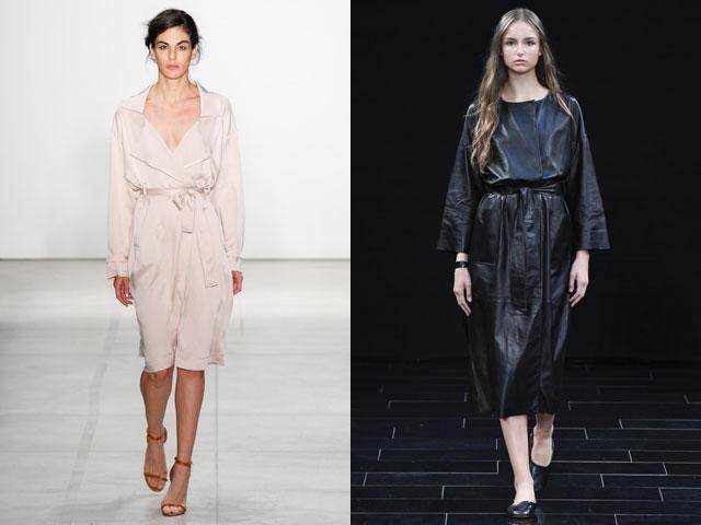 Модные повседневные платья на запах