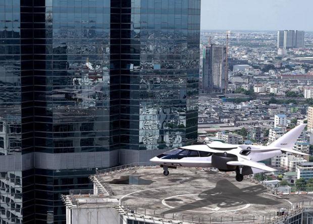 Трехвентиляторный гибридный самолет или первый шаг к летающим авто