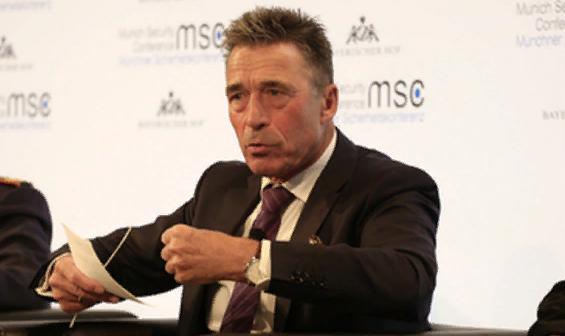 Расмуссен призвал оппозицию Белоруссии противостоять властям: «Единственный возможный путь вперед»