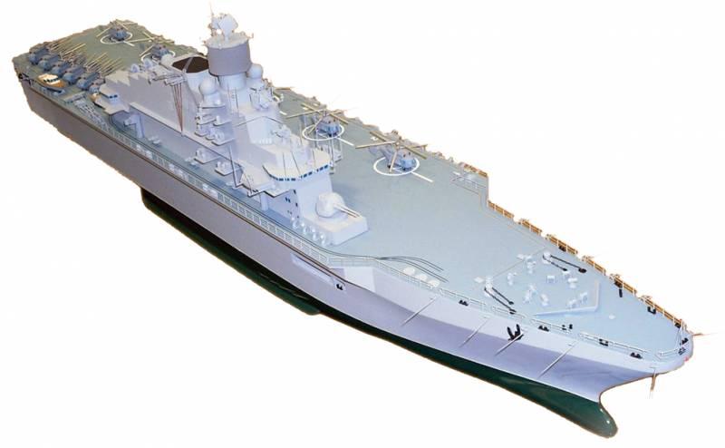 В РФ разрабатывается десантный корабль, превосходящий «Мистрали»