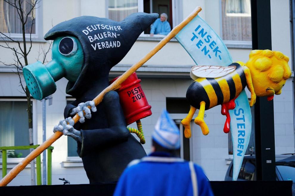 Политический юмор во взгляде немецкого карнавала