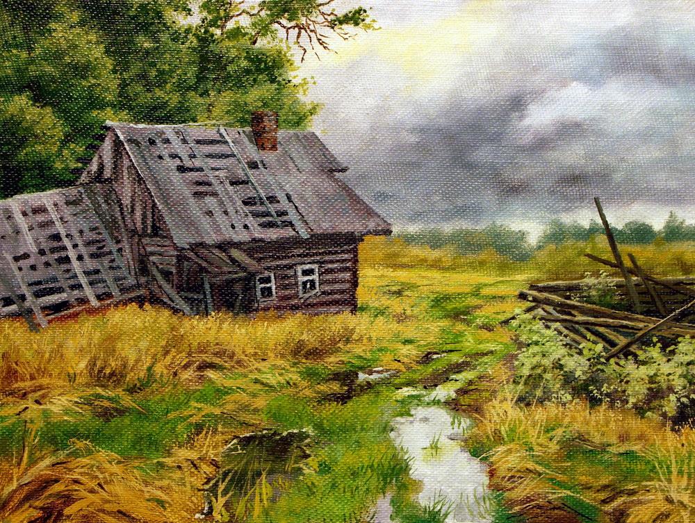 Милый сердцу пейзаж... Художник Виктор Андреев