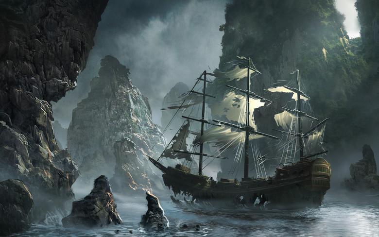 """Самые известные """"корабли-призраки"""" с погибшим или исчезнувшим экипажем"""
