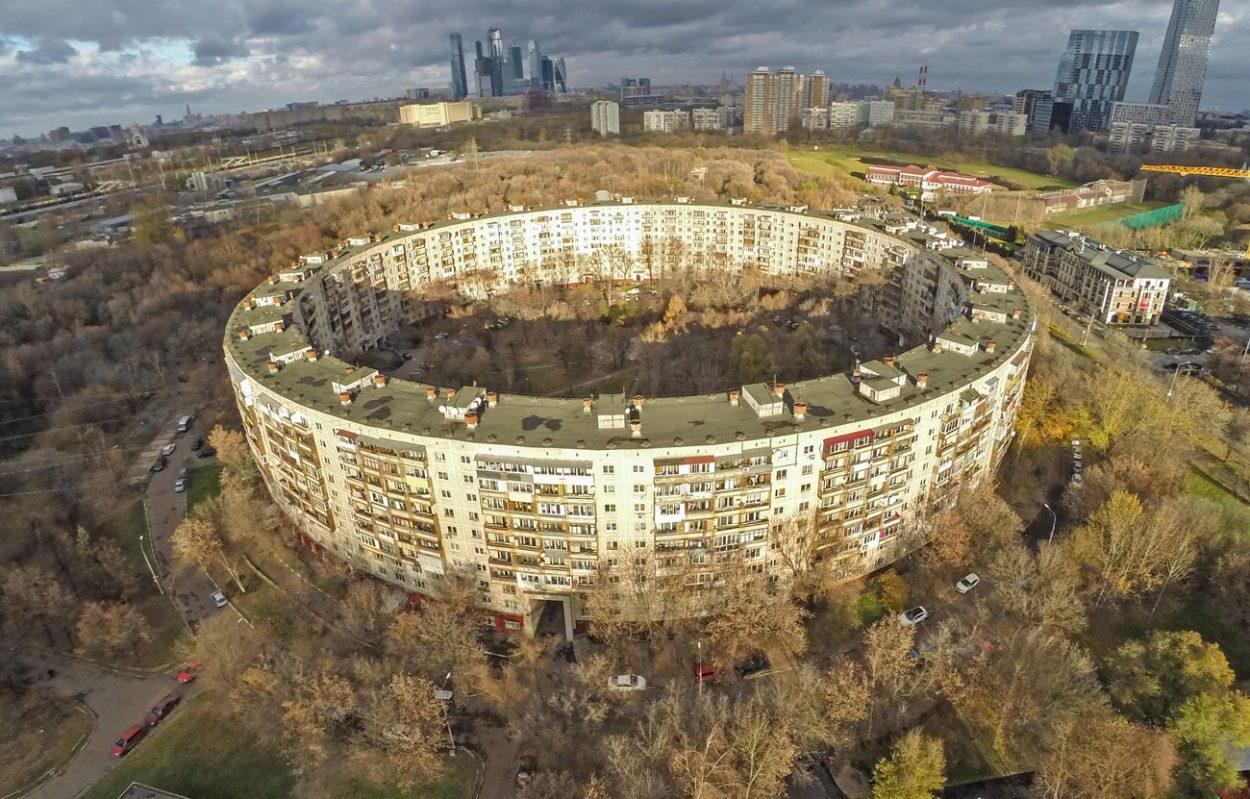 Зачем вСССР строили круглые…