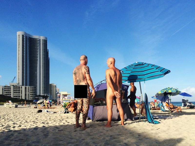 7. Пляж Haulover – Майами, Флорида вокруг света, нудисты, пляж