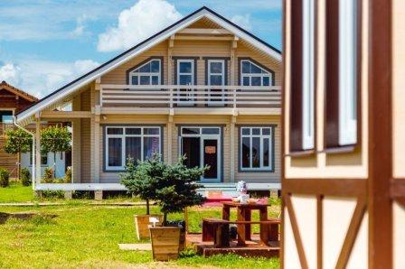 Возведение недорогих дачных домов в дачном поселке