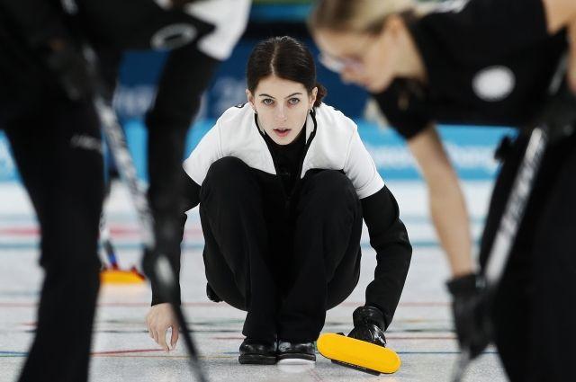 Российские керлингистки проиграли американкам в матче на ОИ-2018