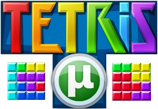 Игра Тетрис в программе µTorrent
