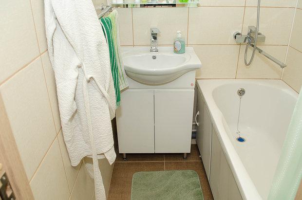 Ванная: минимализм и комфорт