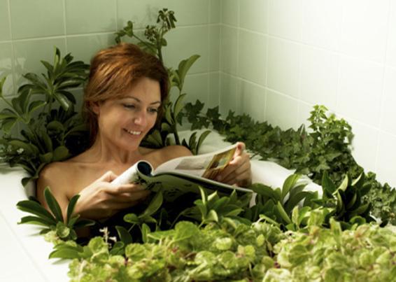 Травяные ванны для релаксации организма