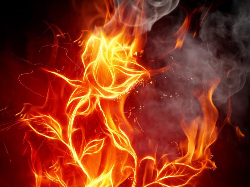 Как я люблю рождение огня...