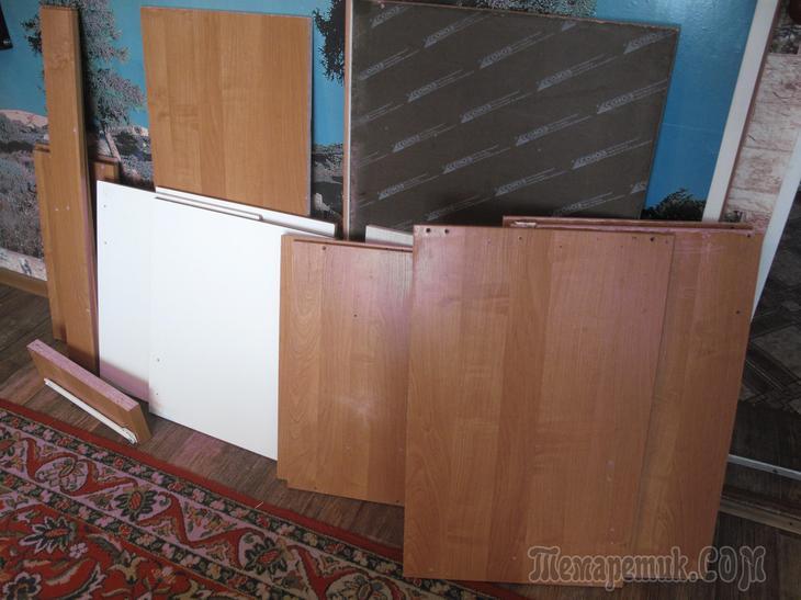 """""""Принимай дрова!"""" - как получить кухонный гарнитур для дачи своими руками"""