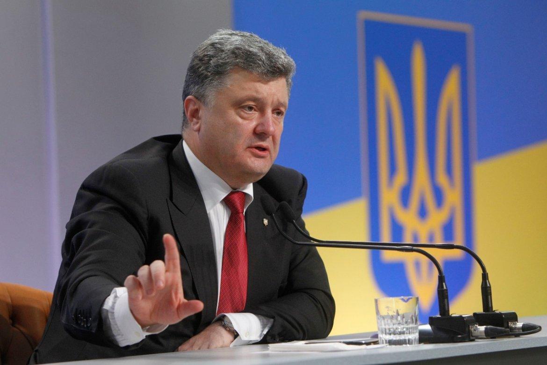 Порошенко планирует прекратить операцию на Донбассе