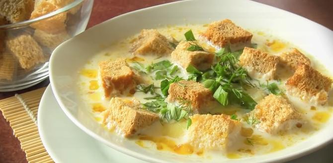 Для любящих мамочек: Вкусный, сырный, нежный суп