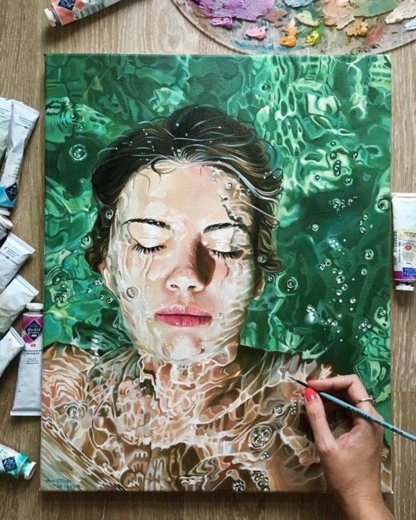 Поразительно красивые картины маслом от художницы Анастасии Морской
