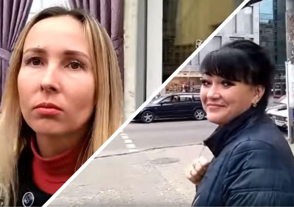 Простые украинцы на камеру в…