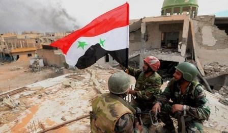 Сначала года сирийская армия освободила оттеррористов более 1780 кв. км