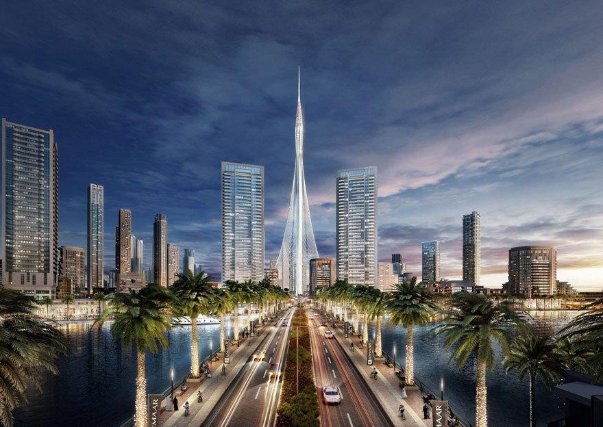 В Дубае началось строительство самой высокой в мире