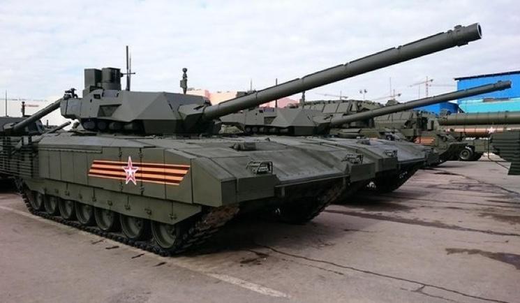 """Российская армия получит 2000 танков """"Армата"""""""
