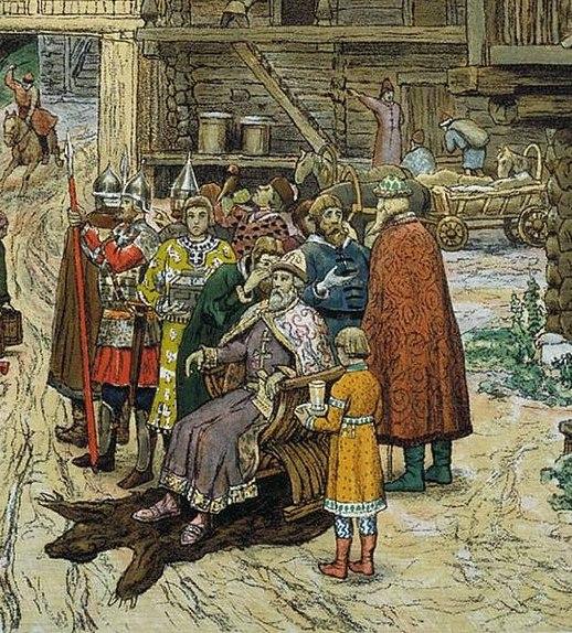 О том, как Иван Калита дани с Новгорода брал.