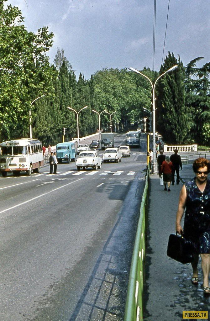 Город Сочи в 1970-ых годах