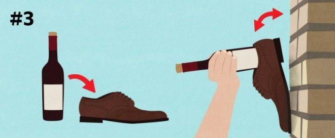 как открыть вино без штопора как быстро охладить бутылку лайфхаки для любителей вина