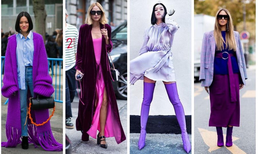 Модные цвета 2018: выбираем себе образ
