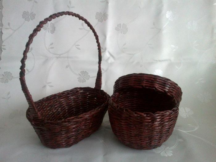 Мастер-класс по плетению корзинки из газетных трубочек (12) (700x525, 250Kb)