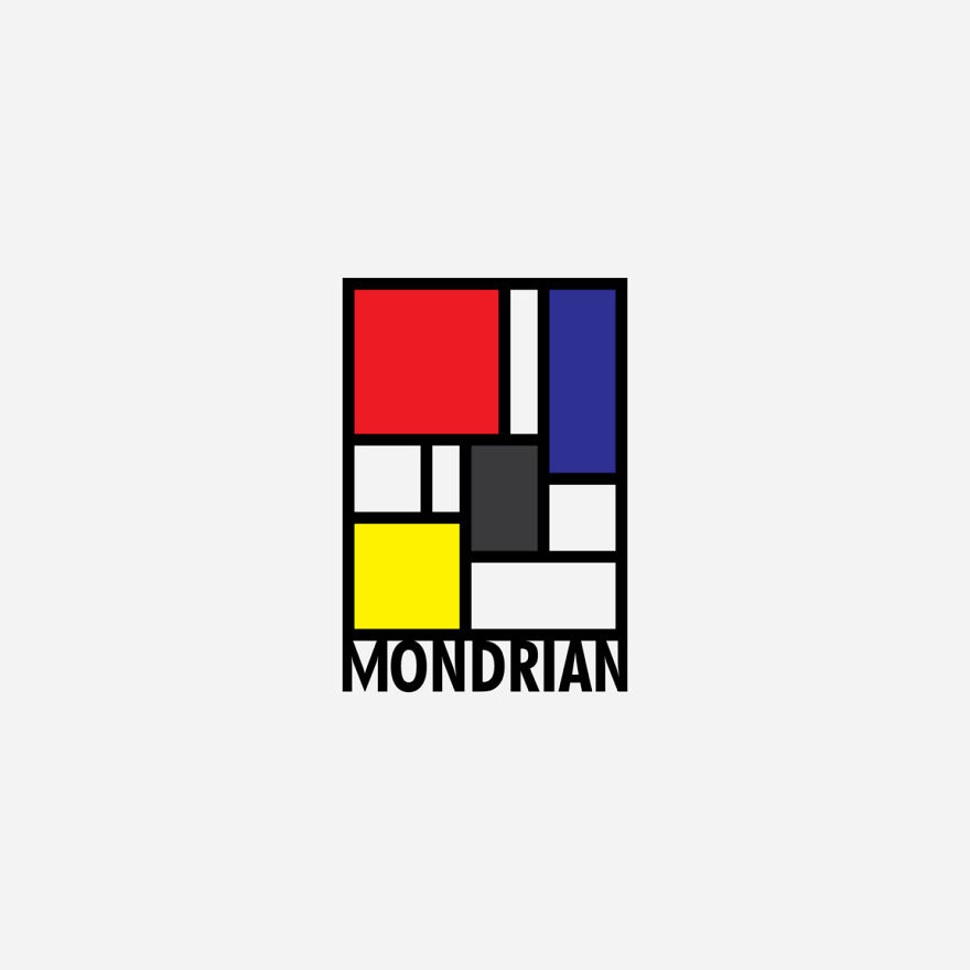 If Famous Painters Had Logos