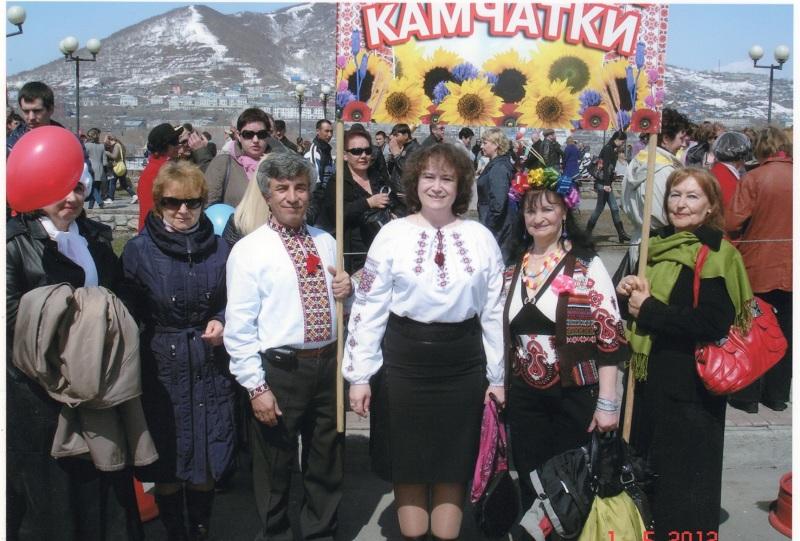 Что то сдвинулось в камчатских украинцев. Полностью укоренённых с российским гражданством.