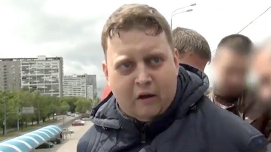 Арест одного из кураторов - 25-летнего Ильи. Источник: Яндекс-картинки