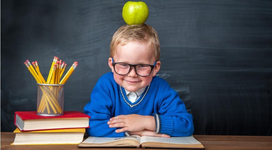 Будущий Ньютон в школе