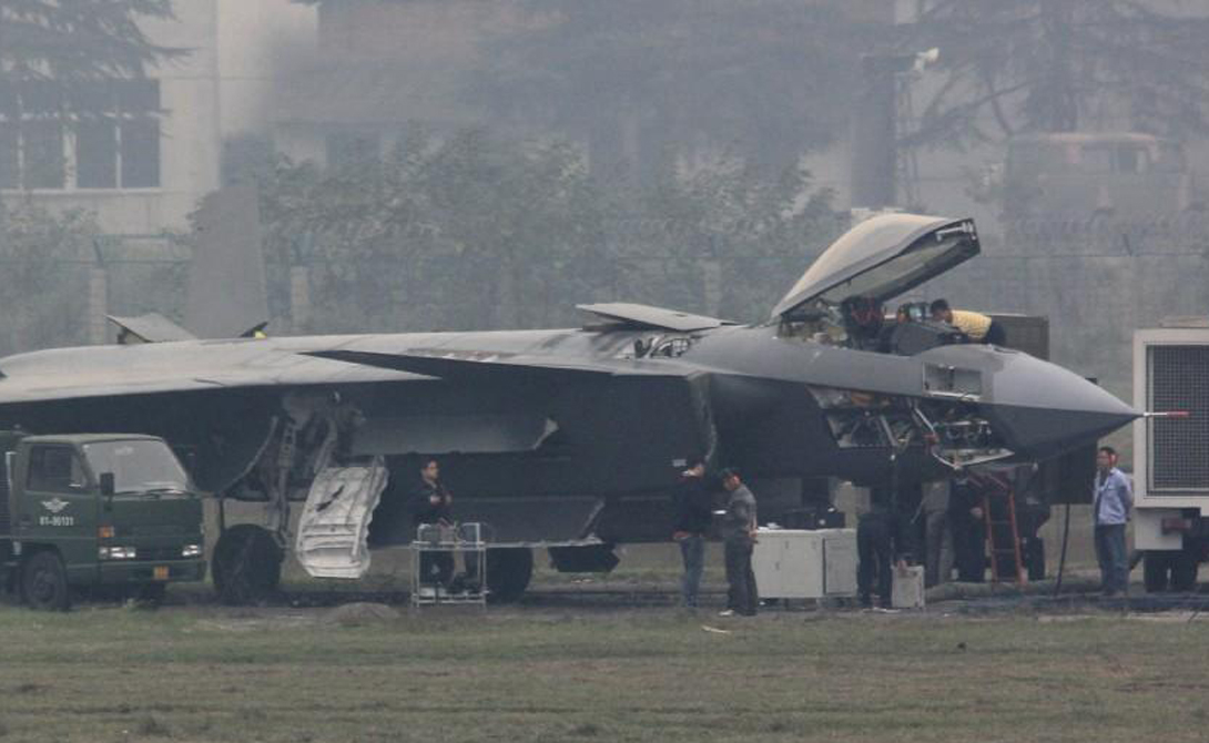 Китайский призрак: первый истребитель-невидимка из Поднебесной