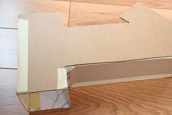 Как сделать с картона единицу
