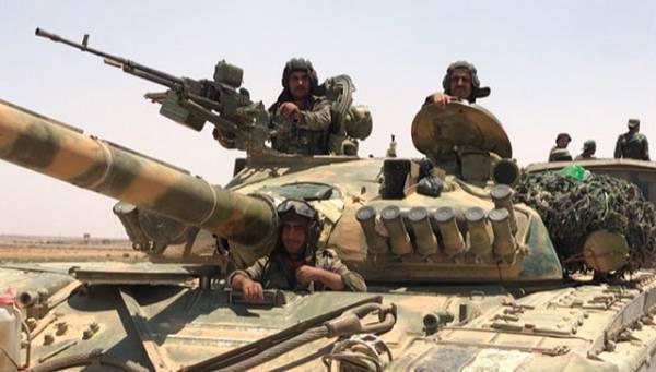 Сирийская армия отбила атаку боевиков в Хаме, сообщил источник