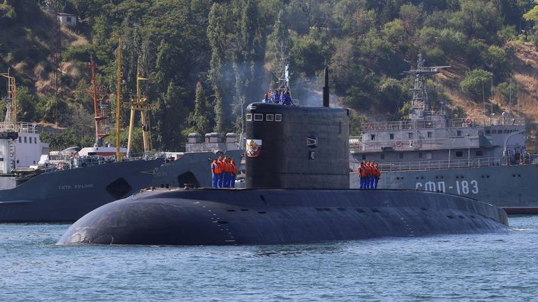 Daily Star: Россия готовится к игре с Западом в «кошки-мышки» в Чёрном море