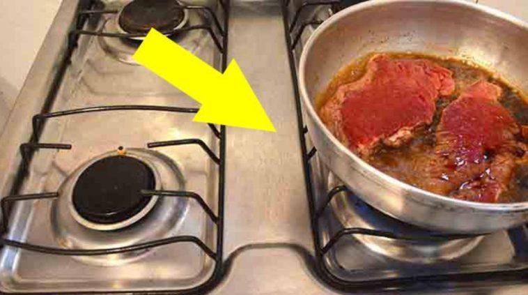 Как пожарить что угодно, при этом не запачкать плиту маслом